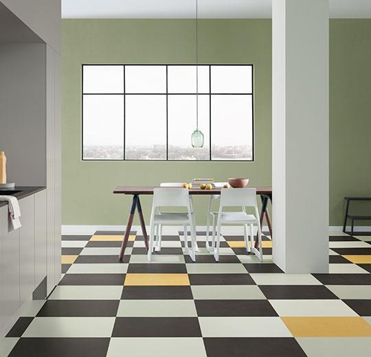 Marmoleum Click Cinch Loc Tile Flooring Eco Building