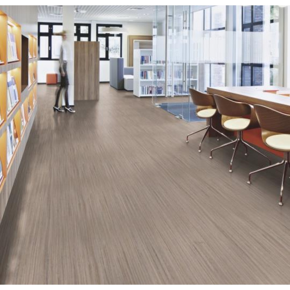 Forbo Marmoleum Striato Natural Sheet Flooring Eco