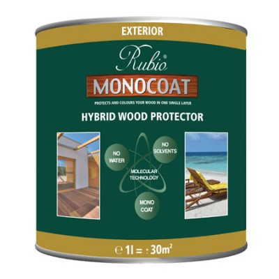 Rubio Monocoat Exterior Hybrid Wood Protector