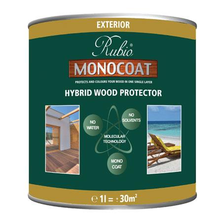 Exterior hybrid wood protector rubio monocoat eco building products - Rubio monocoat exterieur ...