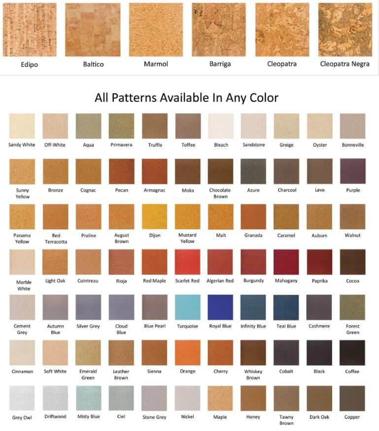 Natural Cork Flooring From Duro Design