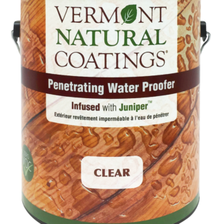 Penetrating Water Proofer infused with juniper