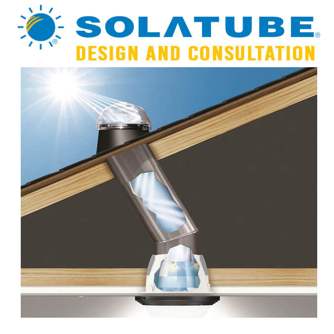 Solatube 14 Quot 290ds Solar Tube Skylight Kit Eco Building