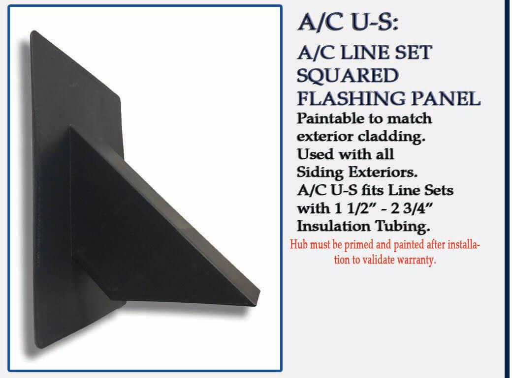 Quickflash Hvac Flashing A C U S Squared Line Set