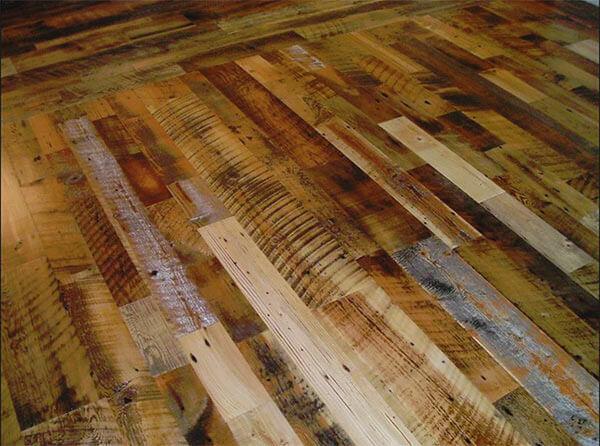 Shenandoah Blend Reclaimed Hardwood Flooring Eco Building Products