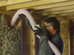 Installing Oregon Shepherd Sheep Wool Insulation into a Wall