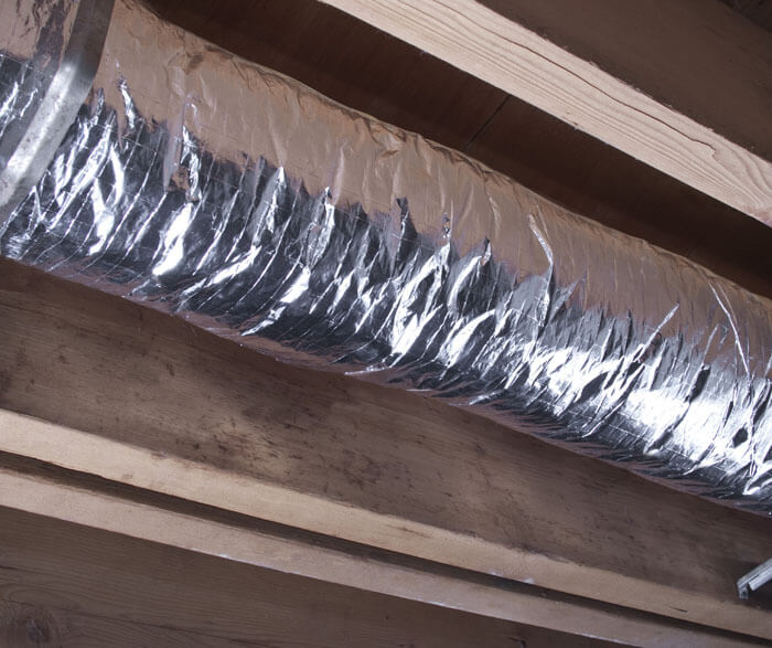 Applegate Cotton Armor R4 Cotton Duct Wrap Duct Insulation Eco Building Products