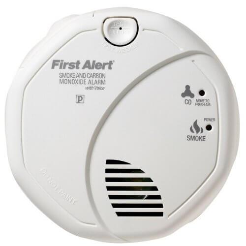 First Alert Talking Smoke and Carbon Monoxide Alarm (SCO7CN)