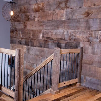 Reclaimed Rustic Barnwood wall covering
