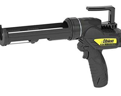 Albion E12 cordless 12v caulk gun for 10.1 ounce cartridges